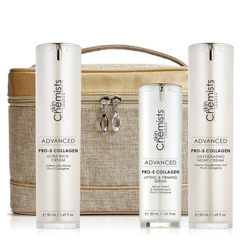 skinChemists Pro-5 Collagen Enhancing Set (Worth £239.96)