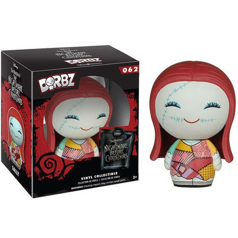 Disney Nightmare Before Christmas Sally Skellington Vinyl Sugar Dorbz