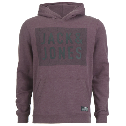 Jack & Jones Men's Rider Hoody - Fig