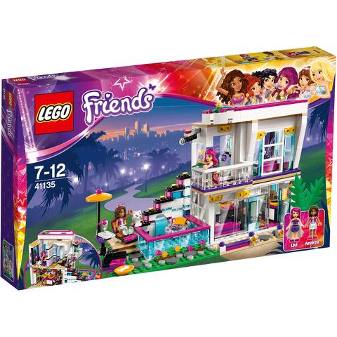 LEGO Friends: Livis Popstar-Villa (41135)