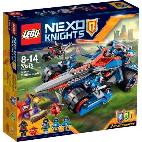 LEGO Nexo Knights: Clay's Rumble Blade (70315)