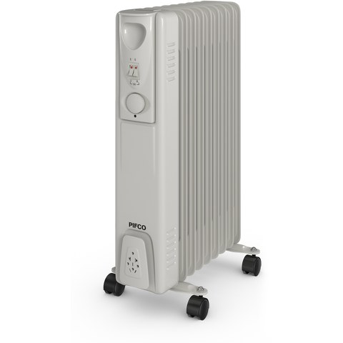 Pifco P43004Y Oil Filled Radiator - White - 2000W