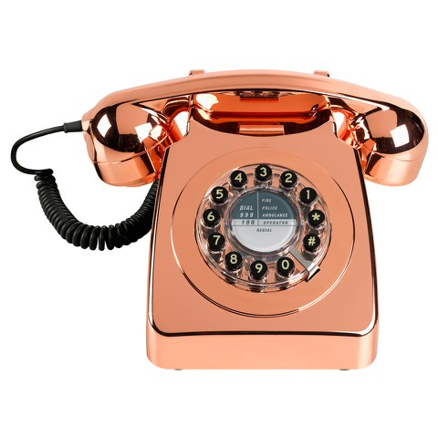 Retro Metallic 746 Copper Telephone