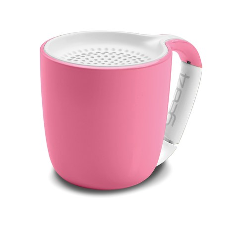 GEAR4 Espresso Portable Wireless Bluetooth Speaker - Pastel Pink