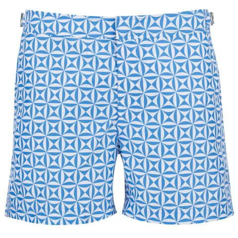 Orlebar Brown Men's Setter Tamanu Swim Shorts - Riviera