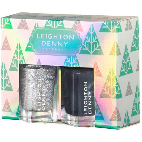 Leighton Denny Frostbite Christmas 2015 Make Spirits Bright Nail Art Collection