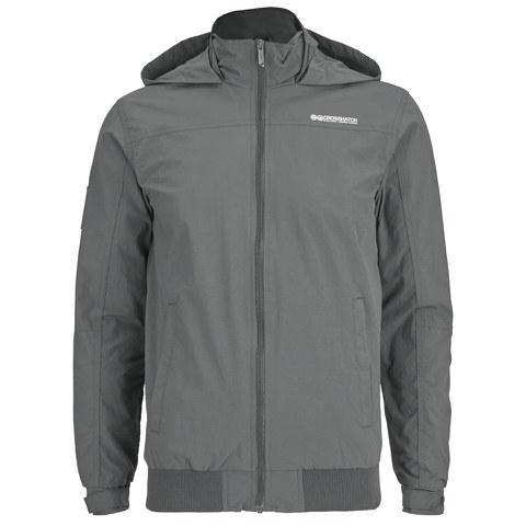 Crosshatch Men's Reflector Zip Through Jacket - Castlerock