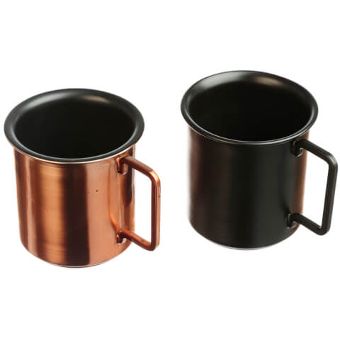 Just Slate Small Coffee Cups - Set of 2