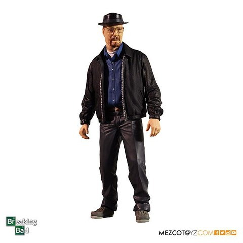 Mezco Breaking Bad Heisenberg SDCC 2015 Exclusive Action Figure 30 cm