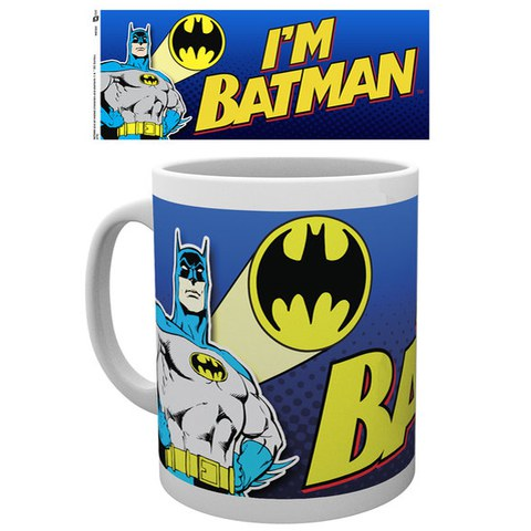 DC Comics Batman Comic I'm Batman Bold - Mug