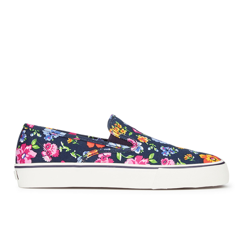 Polo Ralph Lauren Men's Mytton-Ne Slip on Trainers - Navy/Floral