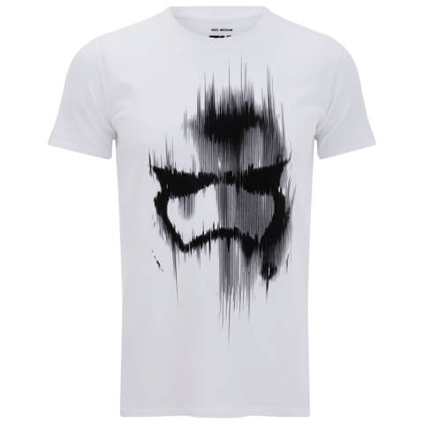 Star Wars Trooper Mask Herren T-Shirt - Weiss