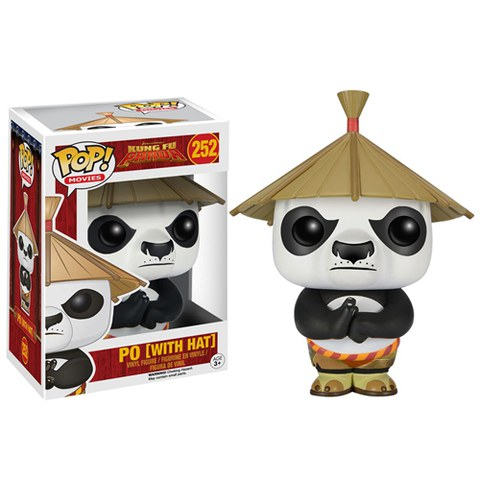 Kung Fu Panda Po With Hat Funko Pop! Figuur