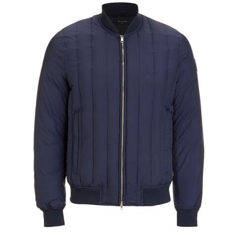 Paul Smith Jeans Men's Down Filled Bomber Jacket - Indigo