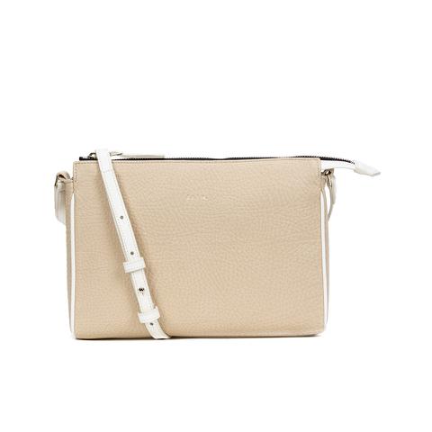 Paul Smith Accessories Women's Leather Crossbody Bag - Cream