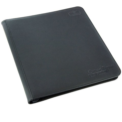 Ultimate Guard Quadrow ZipFolio Xeno Skin Black 12 Pocket Case