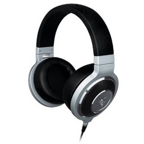 Razer Kraken Forged Music and Gaming Headphones with Mic - Silver