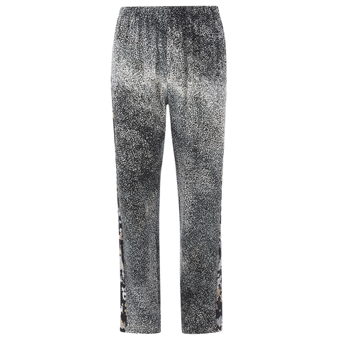 KENZO Women's Sand Silk Trousers - Anthracite