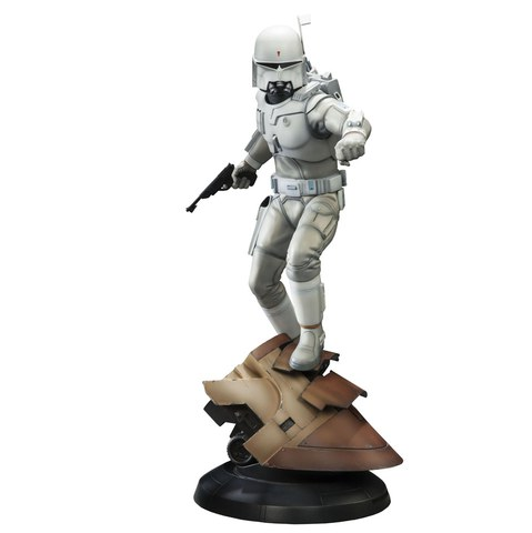 Sideshow Collectibles Star Wars Ralph McQuarrie Boba Fett 18.5 Inch Statue