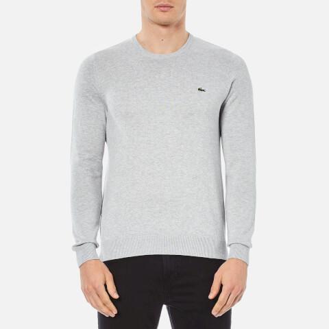 Lacoste Men's Crew Neck Sweatshirt - Grey