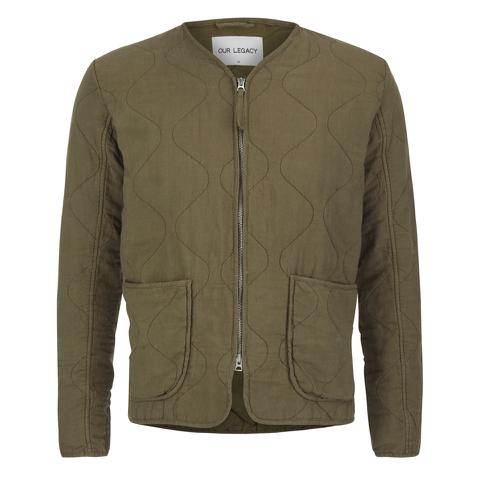 Our Legacy Men's Liner Jacket - Olivine