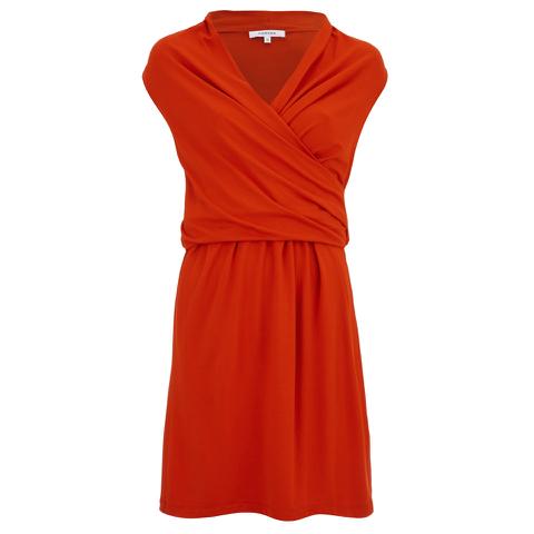 Carven Women's Jersey Mini Dress - Red