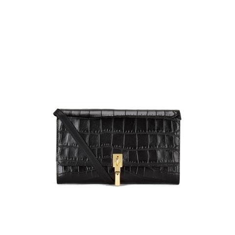 Elizabeth and James Women's Cynnie Wallet on a Chain Clutch Bag - Black