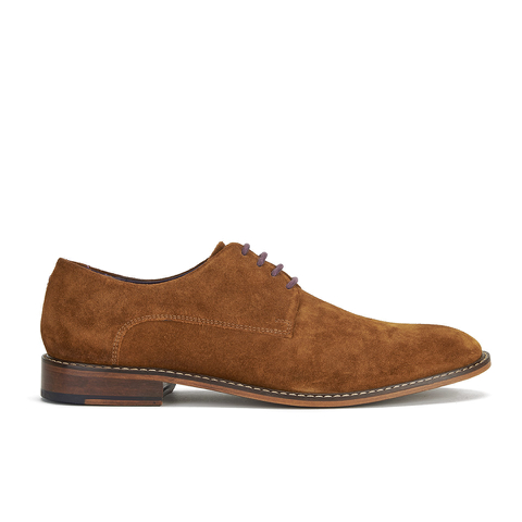 Ted Baker Men's Joehal 2 Suede Derby Shoes - Dark Tan