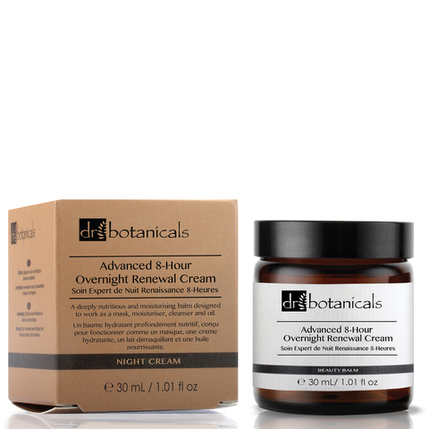 Dr Botanicals Advanced 8-Hour Overnight Renewal Cream (30ml)