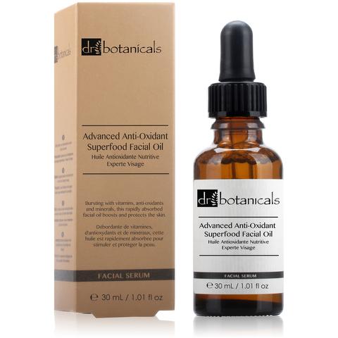 Dr Botanicals Advanced Anti-Oxidant Superfood Facial Oil (30ml)