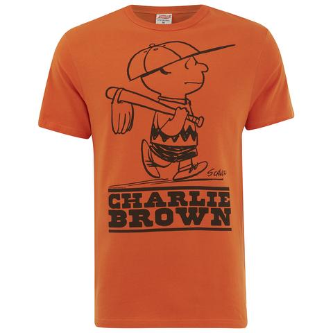 TSPTR Men's Charlie Brown T-Shirt - Orange