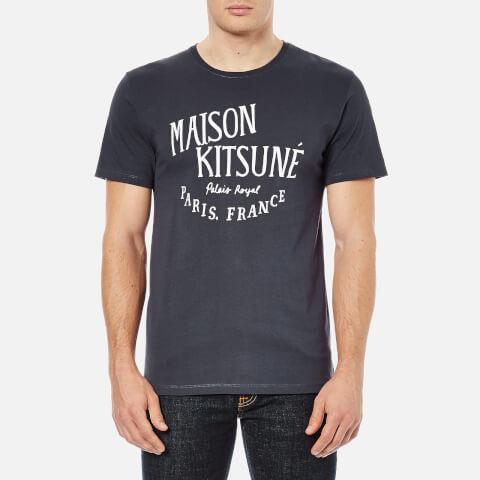 Maison Kitsuné Men's Palais Royal T-Shirt - Navy