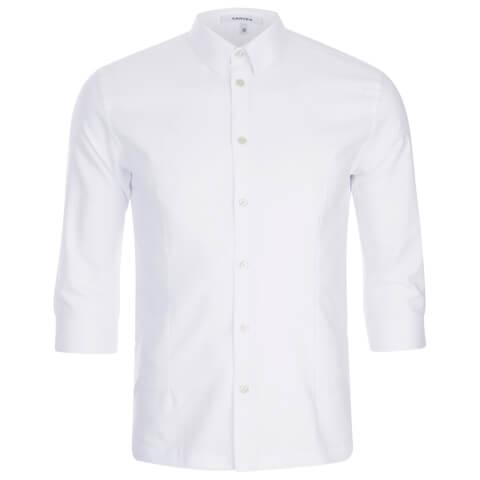 Carven Men's 3/4 Sleeve Shirt - White