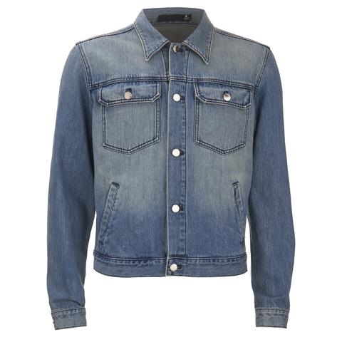 BLK DNM Men's Loose Fitted Denim Jacket - Tinton Blue