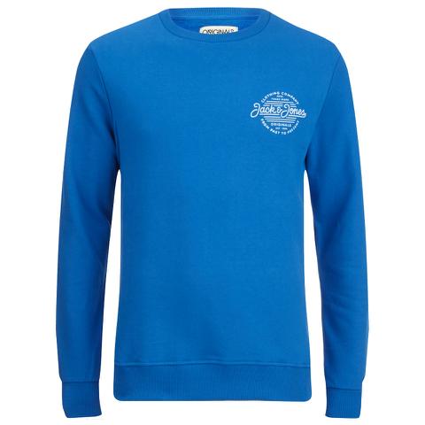 Jack & Jones Men's Originals Smooth Sweatshirt - Imperial Blue