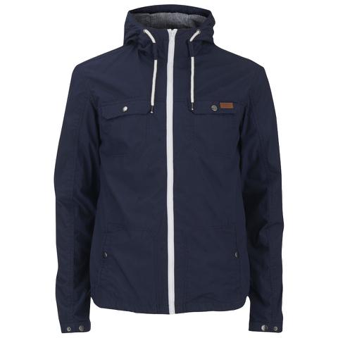 Produkt Men's Contrast Zip Hooded Jacket - Navy Blazer