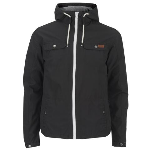 Produkt Men's Contrast Zip Hooded Jacket - Black