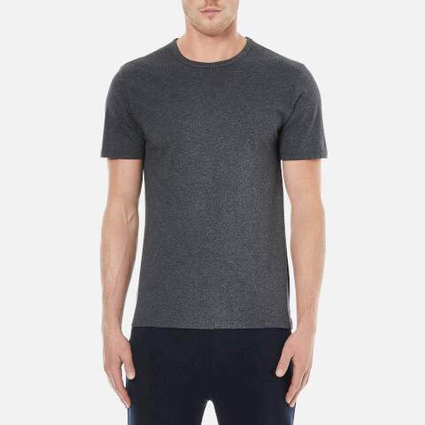 A.P.C. Men's Stitch T-Shirt - Anthracite Chine