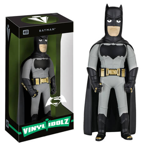 DC Comics Batman v Superman Dawn of Justice Batman Vinyl Idolz