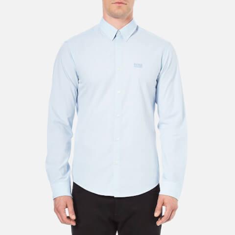 BOSS Green Men's C-Buster Long Sleeved Shirt - Sky