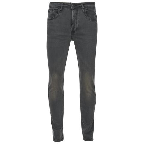 Brave Soul Men's Warren Skinny Jeans - Charcoal