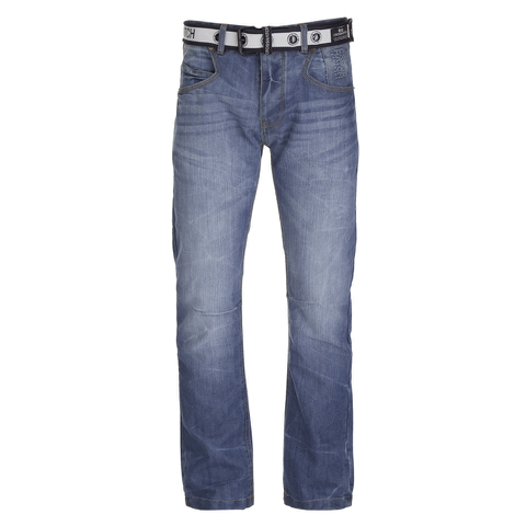 Crosshatch Men's New Baltimore Denim Jeans - Light Wash