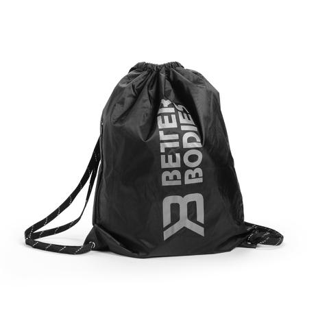 Better Bodies String Bag - Black/Grey