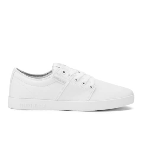 Supra Men's Stacks II Low Top Trainers - White