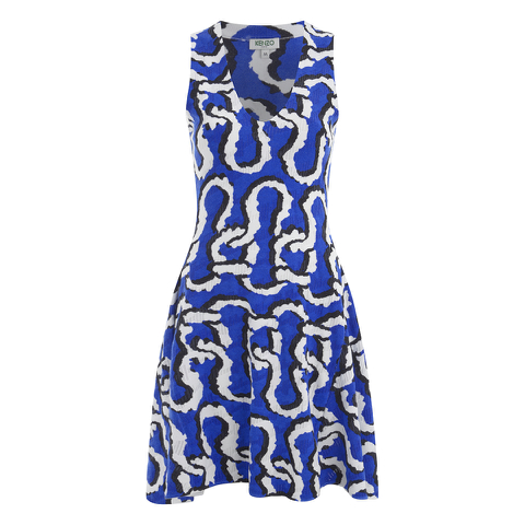 KENZO Women's Print Dress - Multi