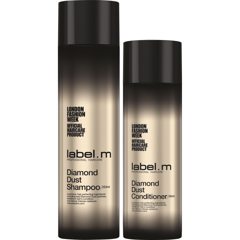 Label.m London Fashion Week Diamond Dust Duo Shampoing et Apres-shampoing.