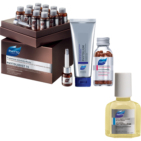 Phyto Phytologist 15 Anti-Hair Loss Bundle (Worth £310)