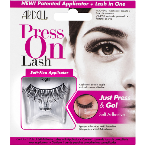 Ardell Press On Lashes Wispies Black