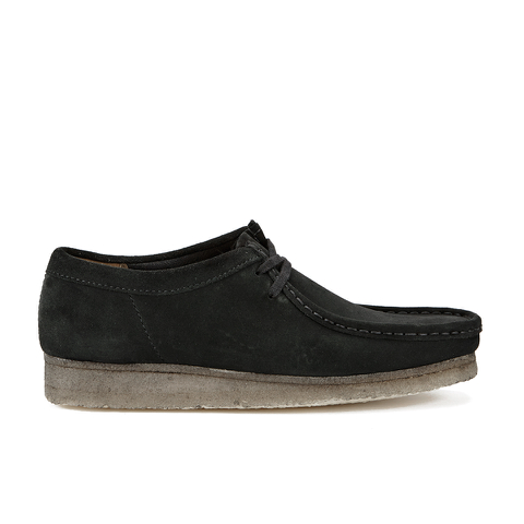 Clarks Originals Men's Wallabee Shoes - Black Suede