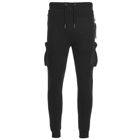 4Bidden Men's Guard Slim Fit Sweatpants - Black